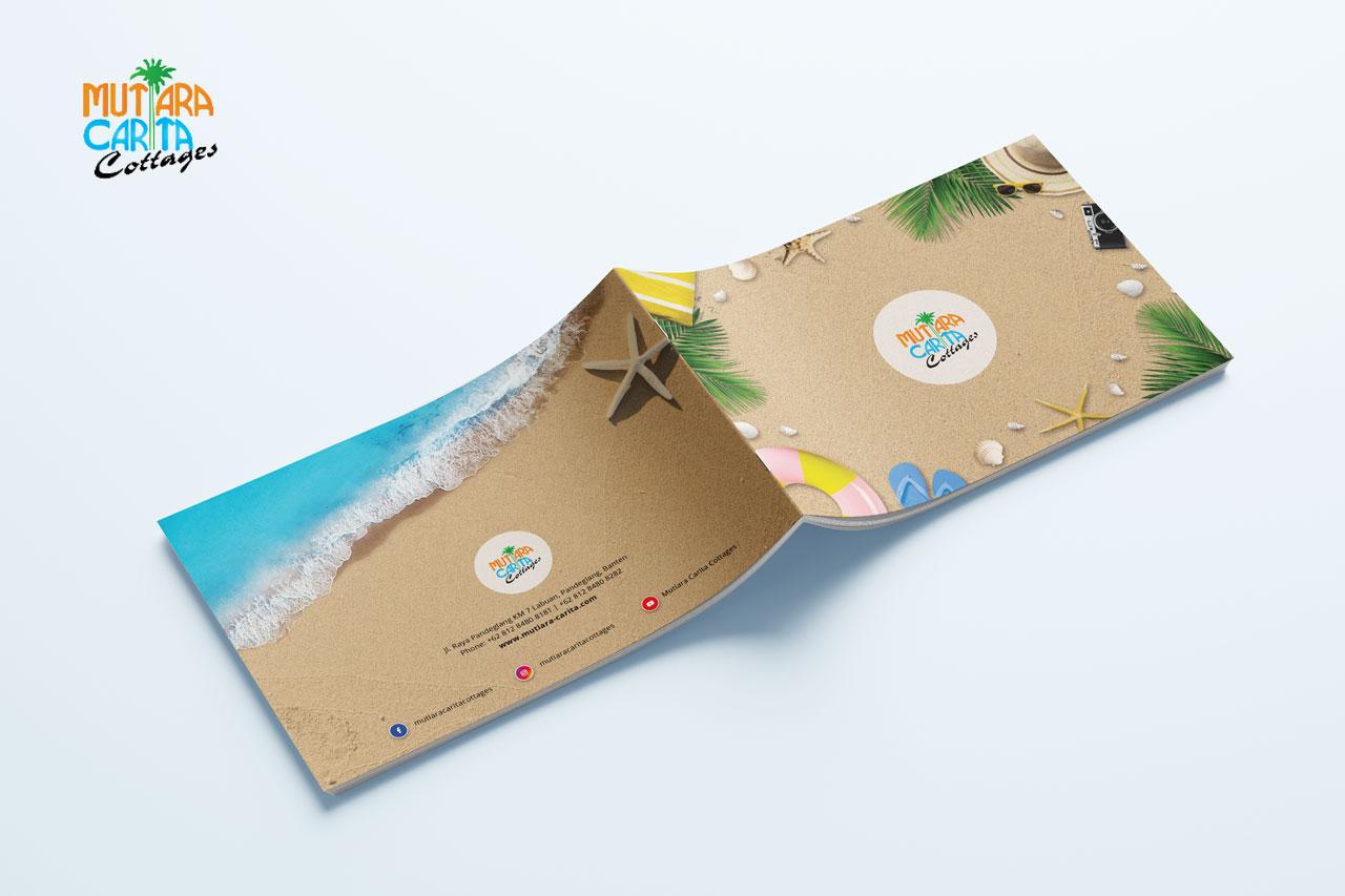 Mutiara Carita Cottages Booklet Design