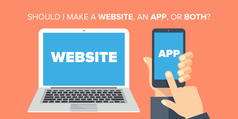 Website or Mobile App. Which to invest when you start a new business?